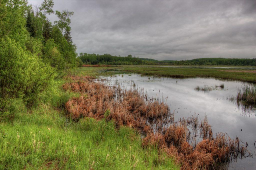 a lake in northern Minnesota