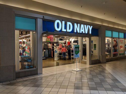 Dayton, Ohio - November 2, 2018 : Old Navy location at Dayton Mall