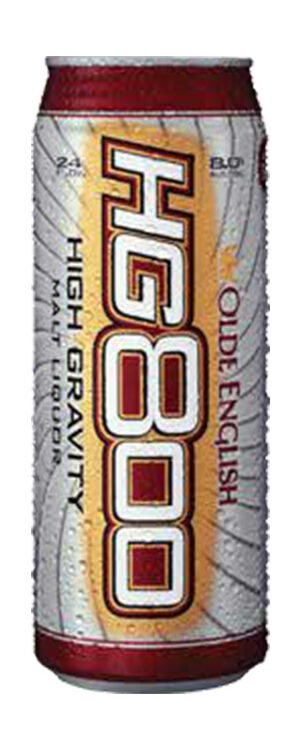 A can of Olde English High Gravity 800 beer