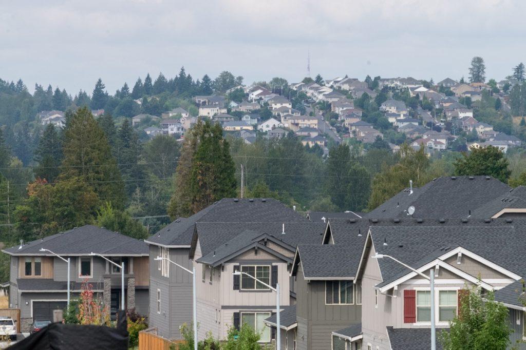 a surburban town in Portland, Oregon, a city near Cedar Mill