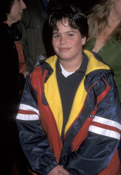 """Ross Malinger at the 1997 premiere of """"Turbulence"""""""