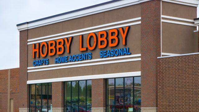 Hobby Lobby store exterior