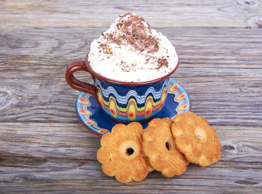 Cinnamon Shortbread Latte