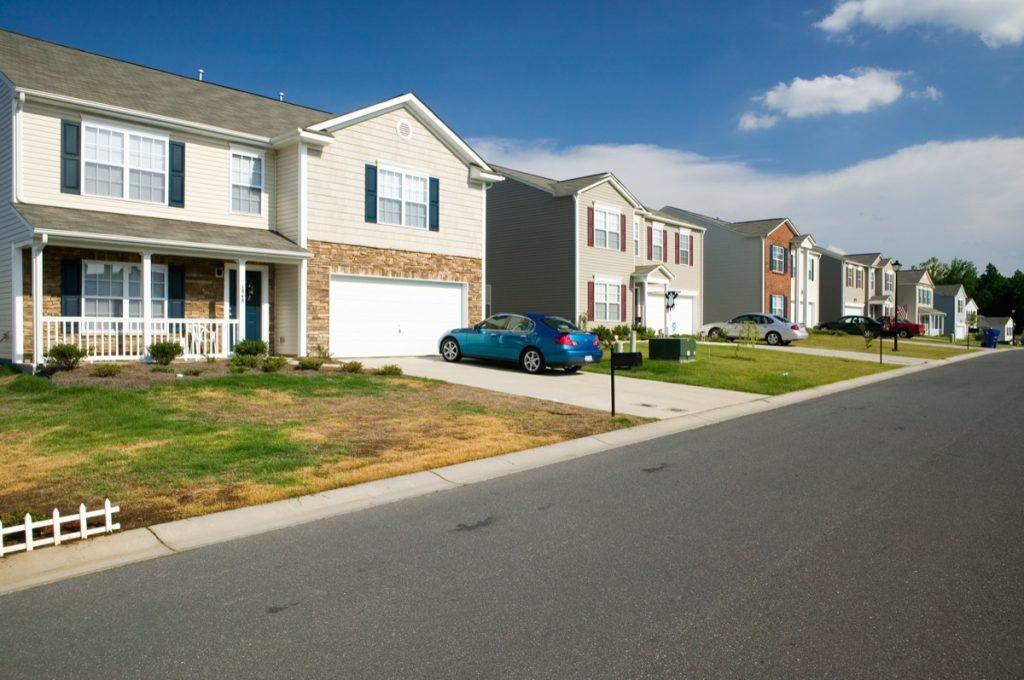 suburb in Charlotte, North Carolina