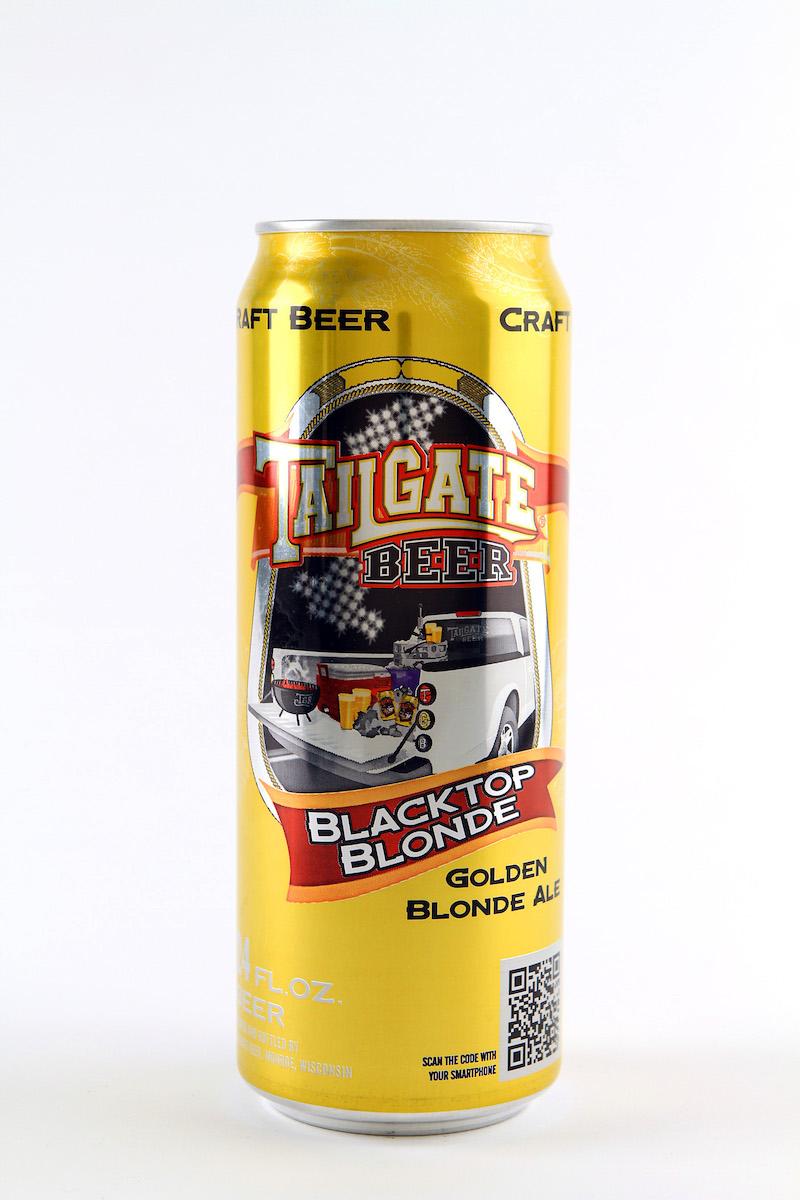 Tailgate Beer's Blacktop Blonde ale.