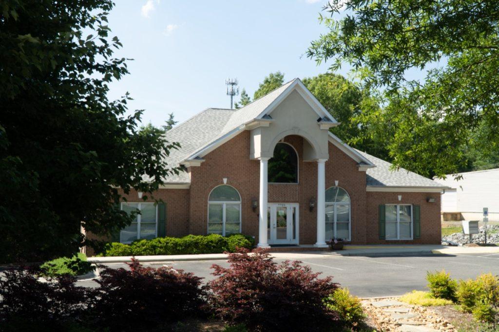 Tega City Hall in Tega Cay, South Carolina