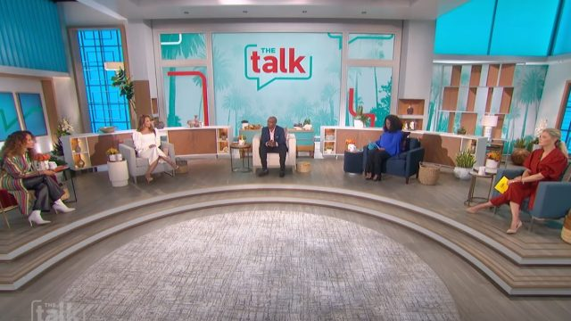 """The cast of """"The Talk"""" in Spring 2021"""