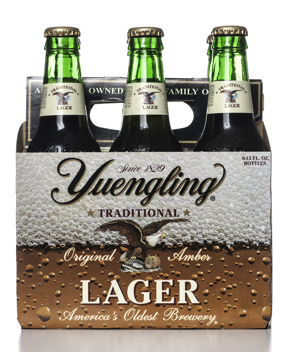 Yuengling Traditional Lager beer