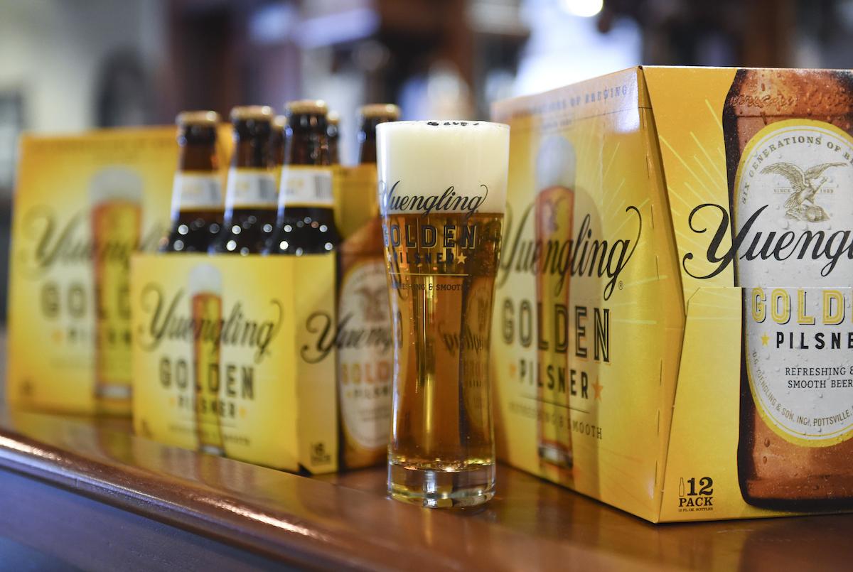 Yuengling introduces Golden Pilsner