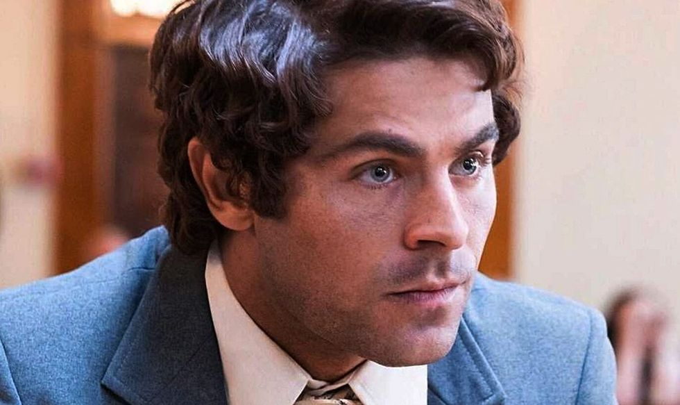 """Zac Efron as Ted Bundy in """" Extremely Wicked, Shockingly Evil and Vile"""""""