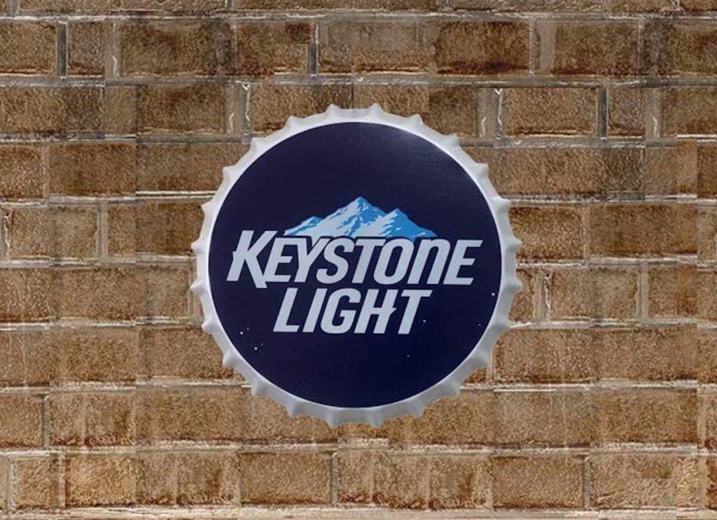 Keystone Light bottle cap