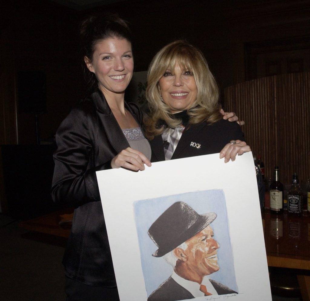 Nancy Sinatra and daughter AJ Lambert