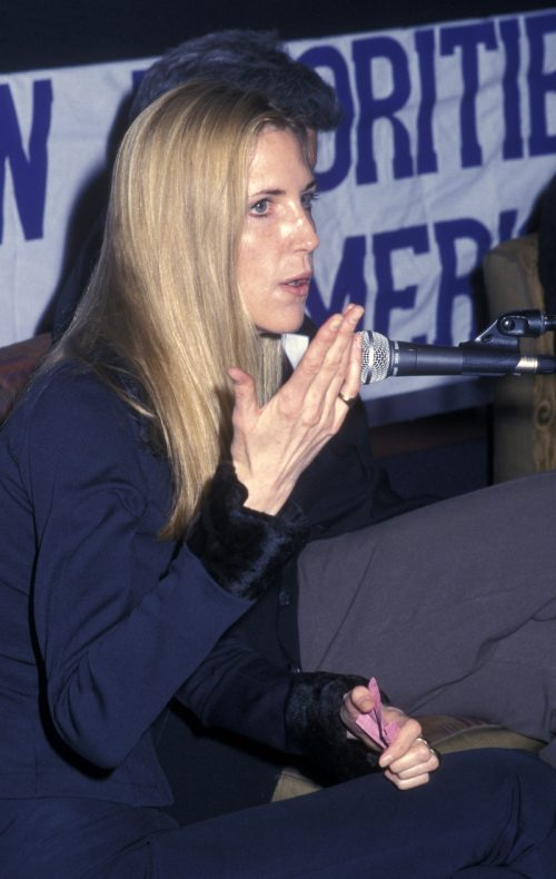 Ann Coulter at the Creative Coalition Freedom of Speech Debates in March 2002