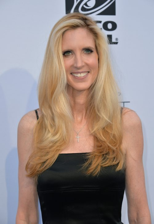 Ann Coulter at the Comedy Central Roast of Rob Lowe in August 2016
