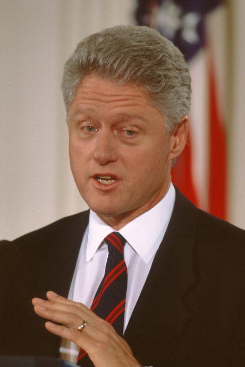 Bill Clinton in Washington, DC in 1997