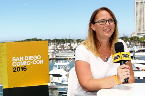Carrie Henn at the IMDb Yacht at San Diego Comic Con in 2016