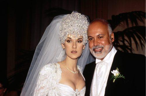 Céline Dion and René Angélil at their 1994 wedding