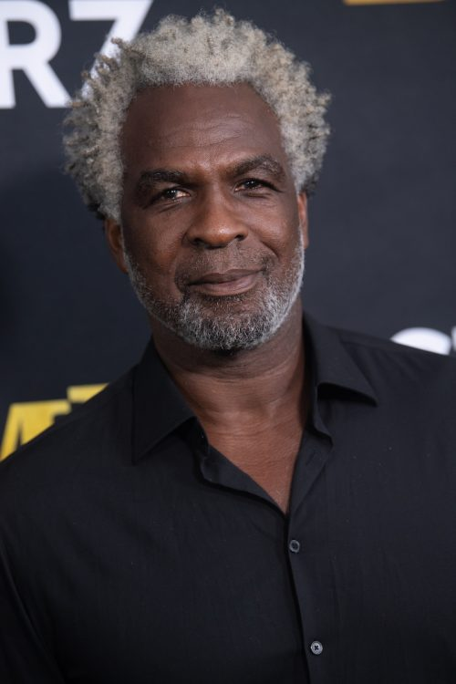"""Charles Oakley at the premiere of """"BMF"""" in September 2021"""