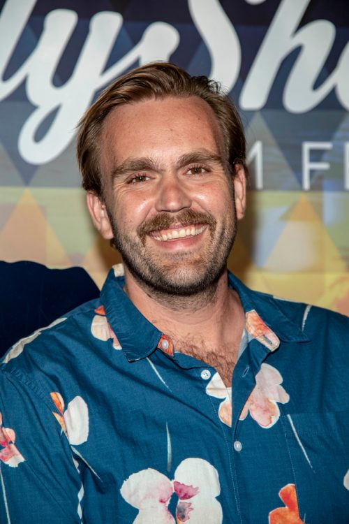 Chris Candy at the 15th Annual HollyShorts Film Festival in August 2019