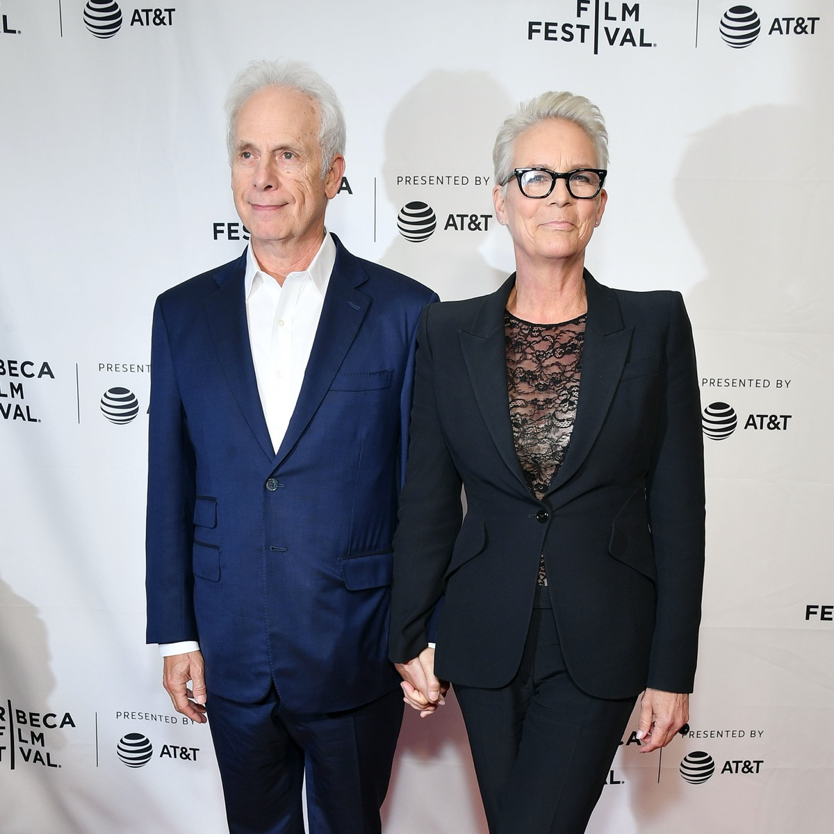 Christopher Guest and Jamie Lee Curtis in 2019