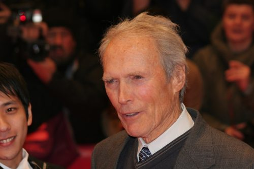 """Clint Eastwood at the Berlin Film Festival premiere of """"Letters from Iwo Jima"""" in February 2007"""