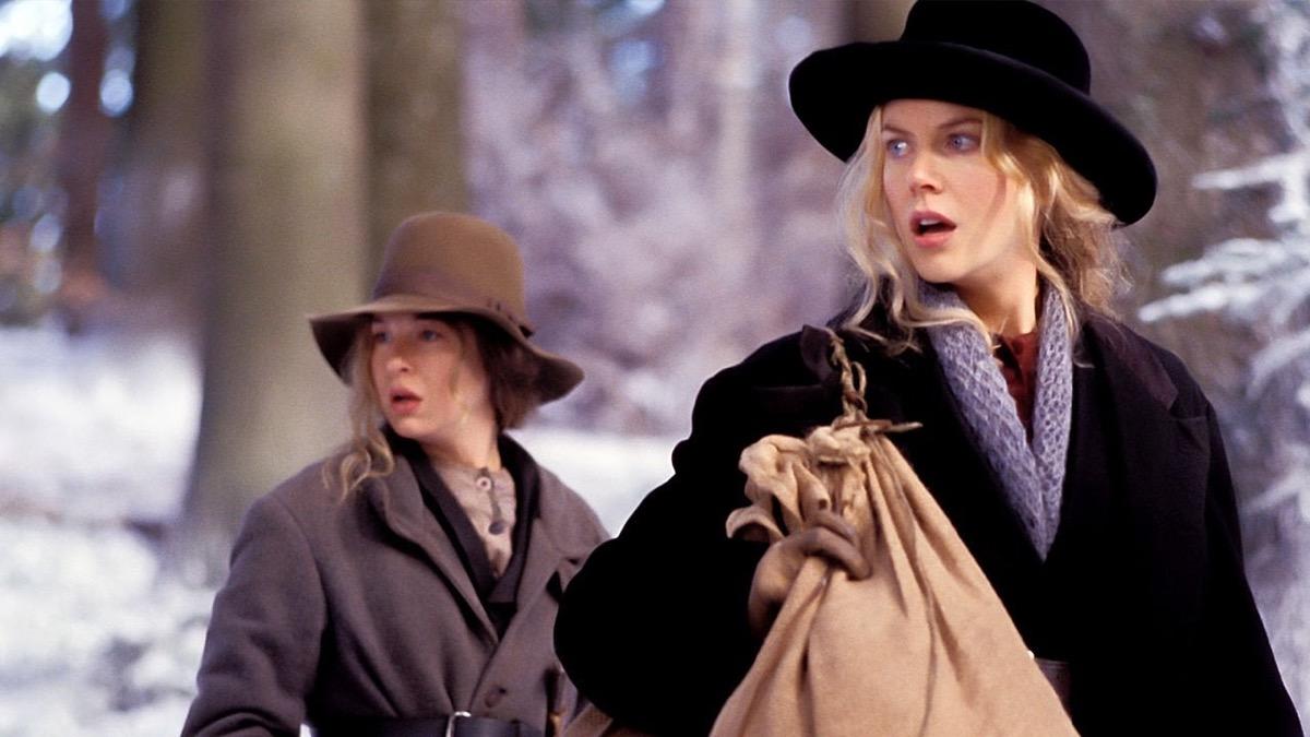 Renee Zellweger and Nicole Kidman in Cold Mountain