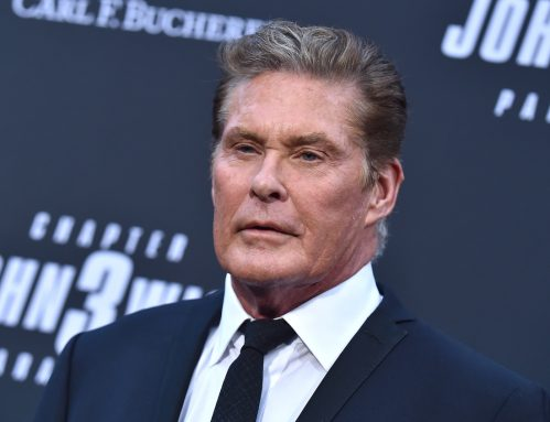 """David Hasselhoff at a screening of """"John Wick: Chapter 3 - Parabellum"""" in May 2019"""