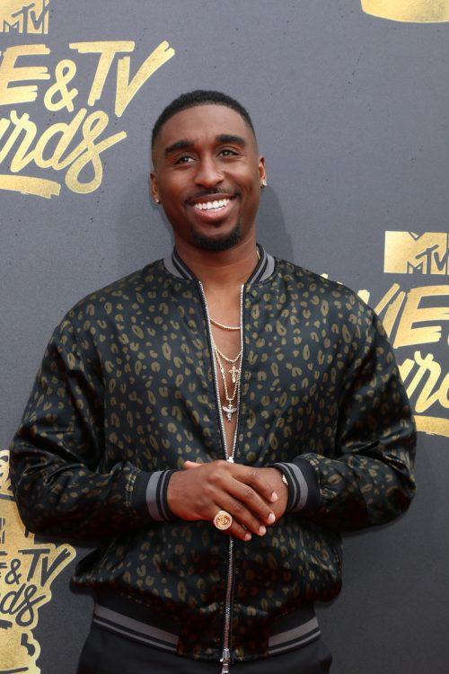 Demetrius Shipp Jr. at the MTV Movie & TV Awards in 2017