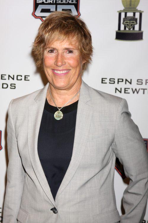 Diana Nyad at the ESPN Sport Science Newton Awards in February 2014