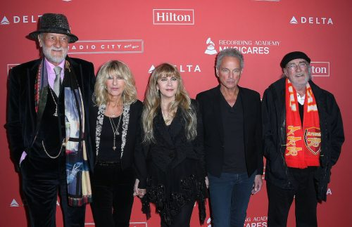 Fleetwood Mac at MusiCares Person of the Year in January 2018