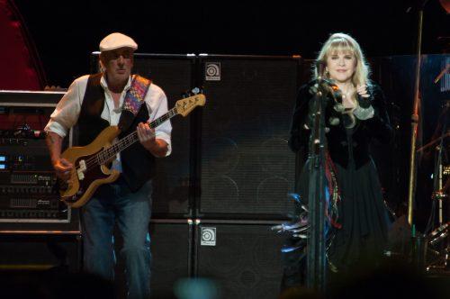 Fleetwood Mac performing in Sacramento, California in July 2013