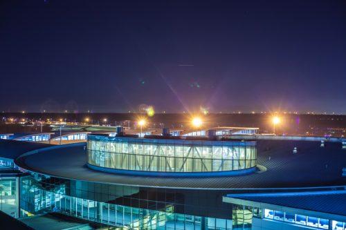 George Bush International Airport in Houston, Texas