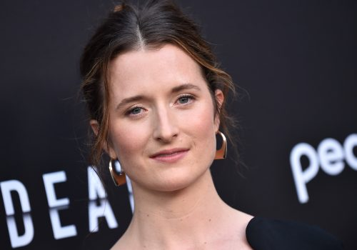 """Grace Gummer at the premiere of """"Dr. Death"""" in July 2021"""