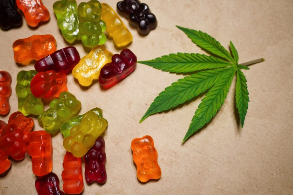 Marijuana edible gummy bears