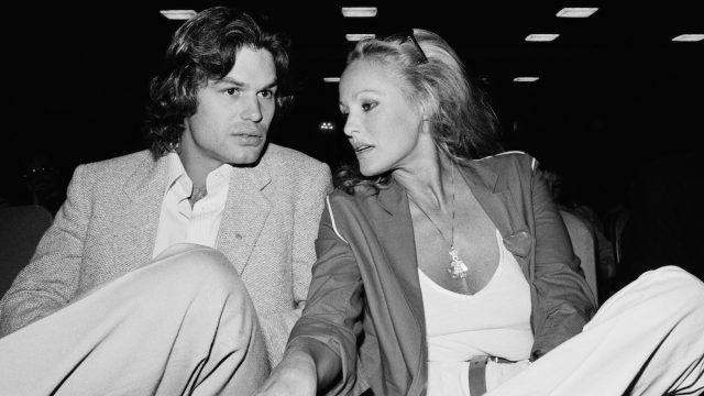 Harry Hamlin and Ursula Andress at the 1979 Deauville American Film Festival