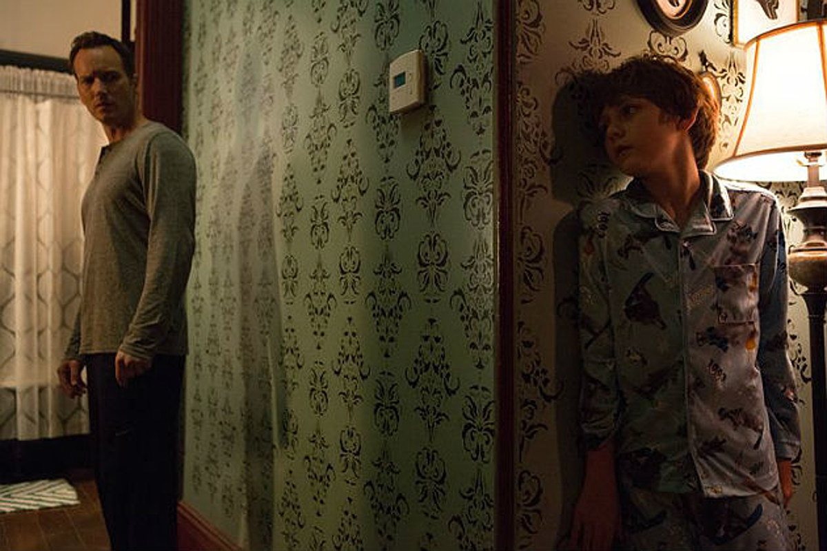Patrick Wilson and Ty Simpkins in Insidious Chapter 2