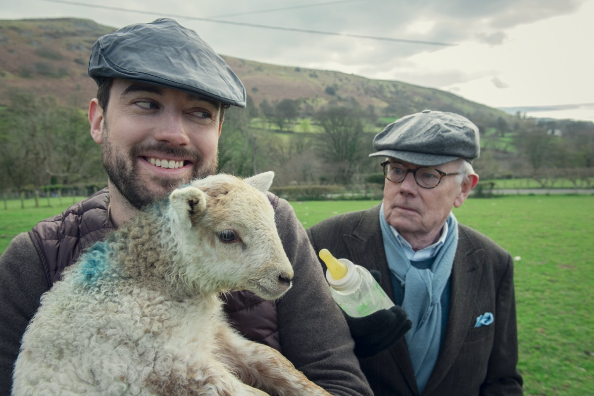 Jack and Michael Whitehall in Travels with My Father