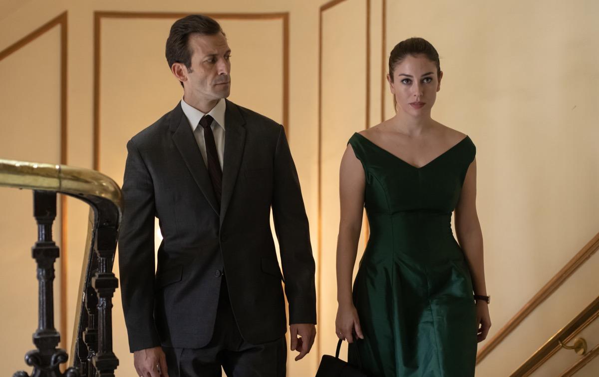 Ivan Marcos and Blanca Suarez in Jaguar