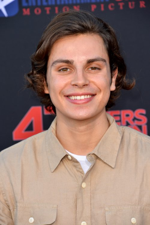 """Jake T. Austin at the premiere of """"47 Meters Down: Uncaged"""" in August 2019"""