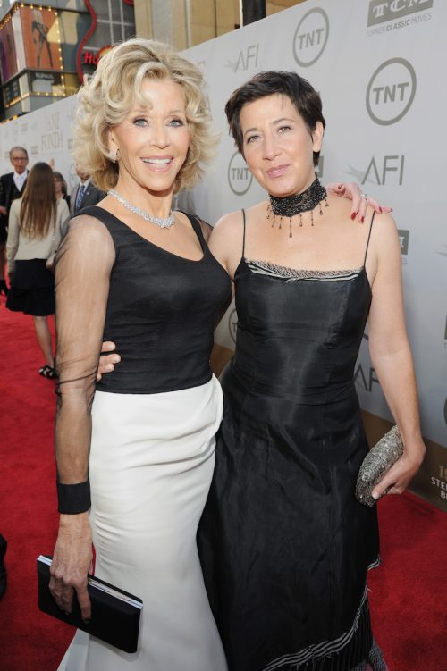Jane Fonda and daughter Vanessa Vadim at the 2014 AFI Life Achievement Award: A Tribute to Jane Fonda