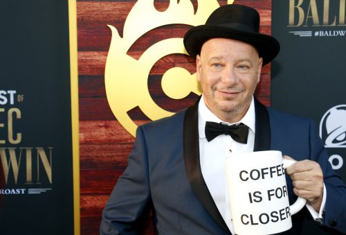 Jeff Ross at the Comedy Central Roast of Alec Baldwin in September 2019