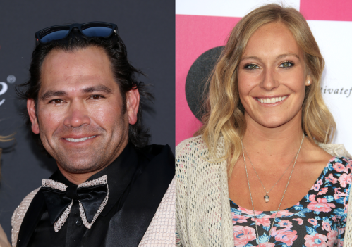 Johnny Damon at the 2019 ESPYs in July 2019; Jamie Anderson at Billabong's 6th Annual Design For Humanity Event in July 2012