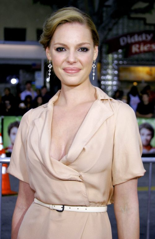 """Katherine Heigl at the premiere of """"Knocked Up"""" in May 2007"""