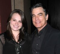 Kathryn and Peter Gallagher at the 18th Annual A Night at Sardi's benefitting the Alzheimer's Association in March 2010
