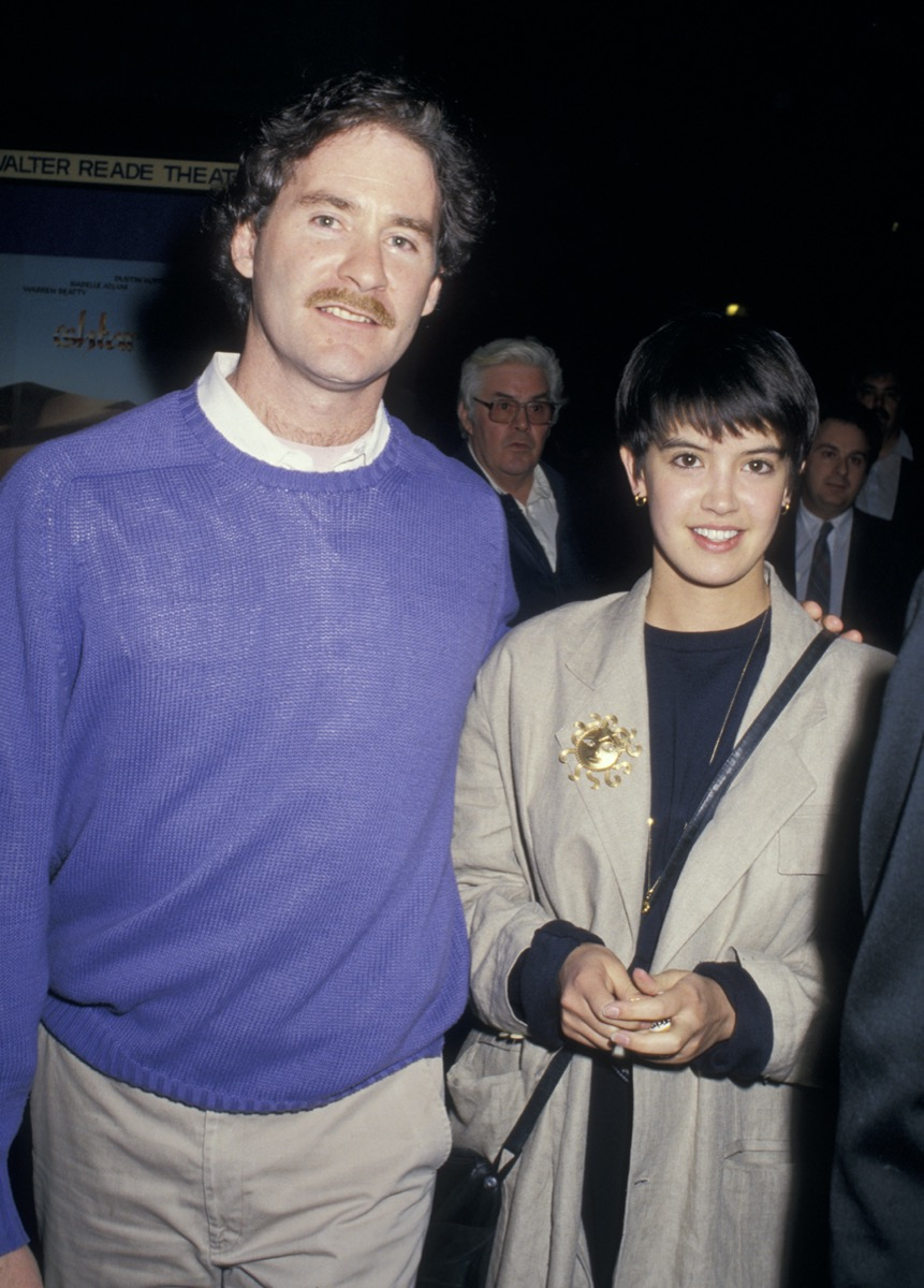 Kevin Kline and Phoebe Cates in 1987