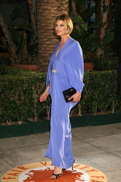 Linda Evangelista at the 2007 Vanity Fair Oscar Party