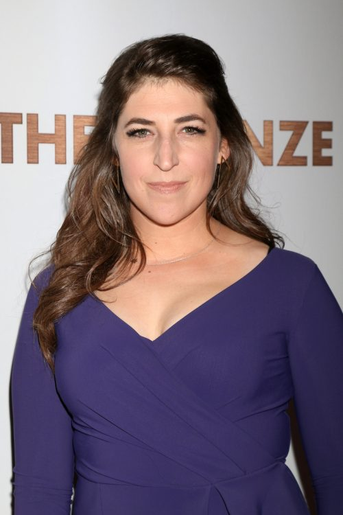 """Mayim Bialik at the premiere of """"The Bronze"""" in March 2016"""