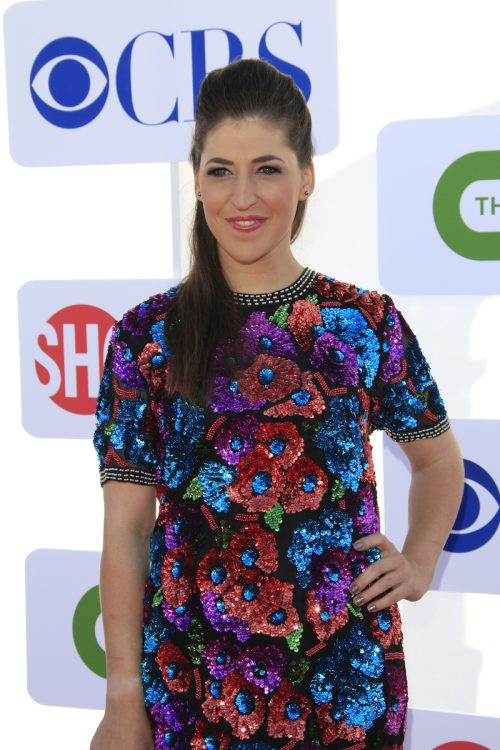 Mayim Bialik at the 2012 CBS, Showtime, and The CW Summer Press Tour party