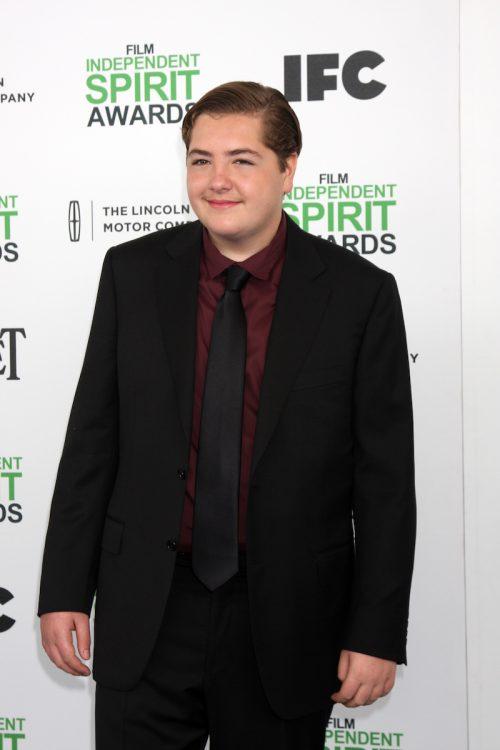 Michael Gandolfini at the Film Independent Spirit Awards in 2014