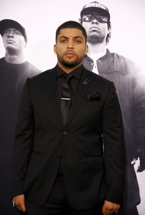 """O'Shea Jackson Jr. at the premiere of """"Straight Outta Compton"""" in 2015"""